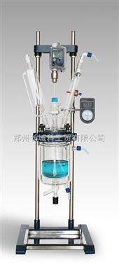 GR-2L变频调速数显2000ml双层玻璃反应釜