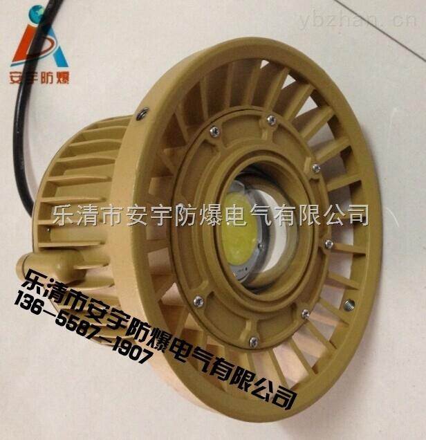 防腐弯杆式免维护LED防爆灯BLD110-40W壁式30°安装