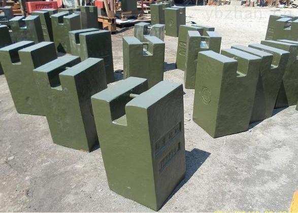 鑄鐵砝碼工廠-手提秤50公斤鑄鐵砝碼