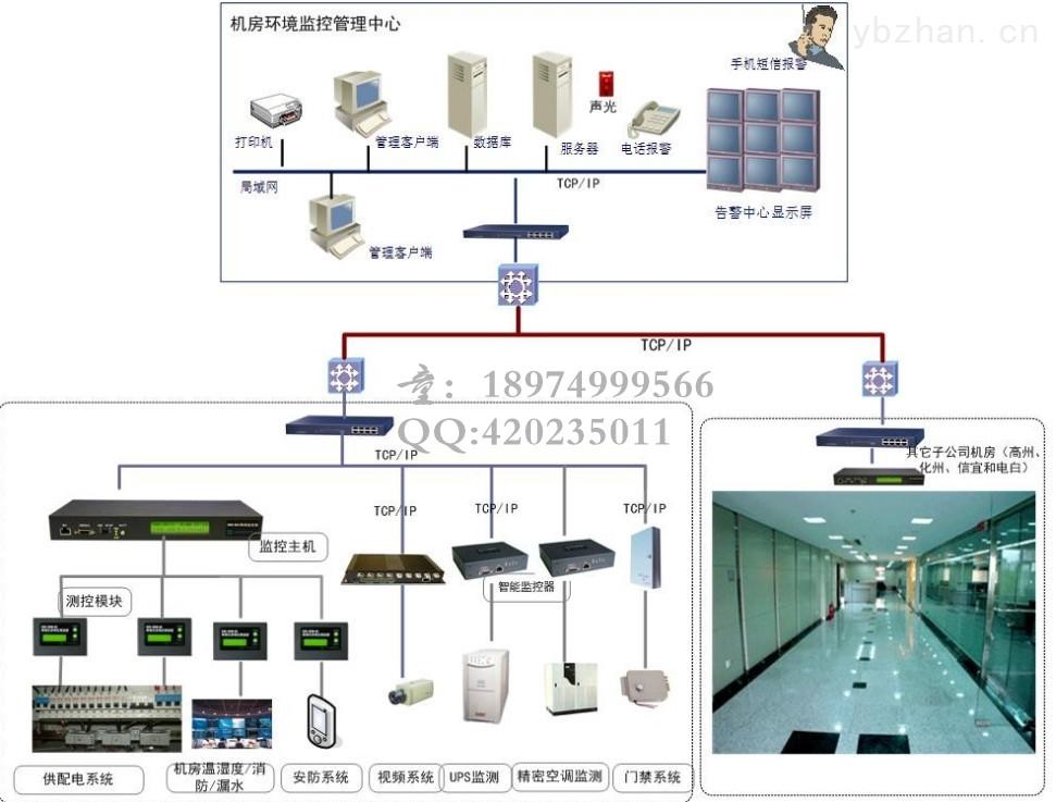 消防电源监控系统接线图