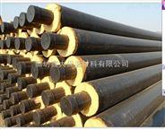 聚乙烯黑黄夹克保温管道,耐高温聚乙烯直埋蒸汽保温管道价格