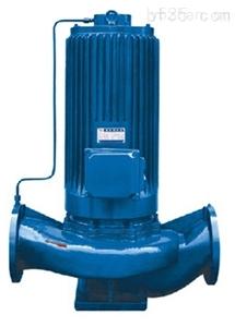 屏蔽式管道增压泵
