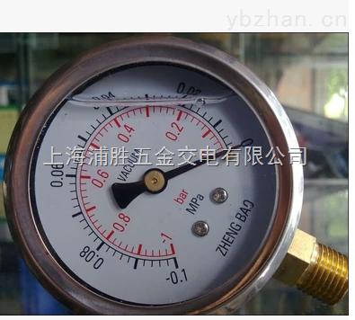 YN60-耐震真空压力表