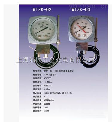 WTYYX-411液体压力式电接点远传温度计