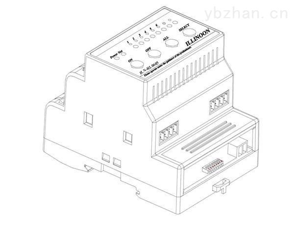 ILN-RL0605-智能继电器模块6路5A智能照明模块开关驱动器智能灯光模块