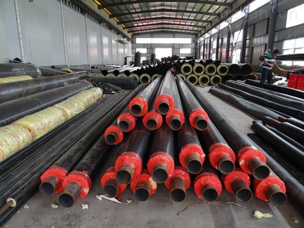 钢套钢蒸汽复合钢管保温规模