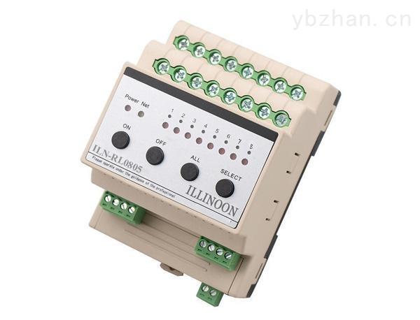 ILN-RL0805-智能继电器模块8路5A智能照明模块开关驱动器智能灯光模块