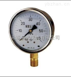 YBFN-100-無錫專業生產不銹鋼耐震壓力表