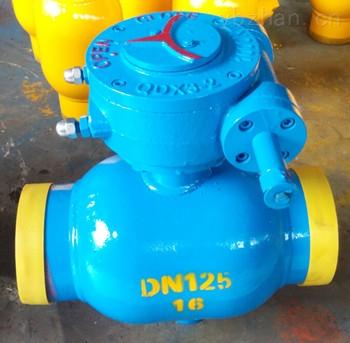DN125涡轮全焊接球阀