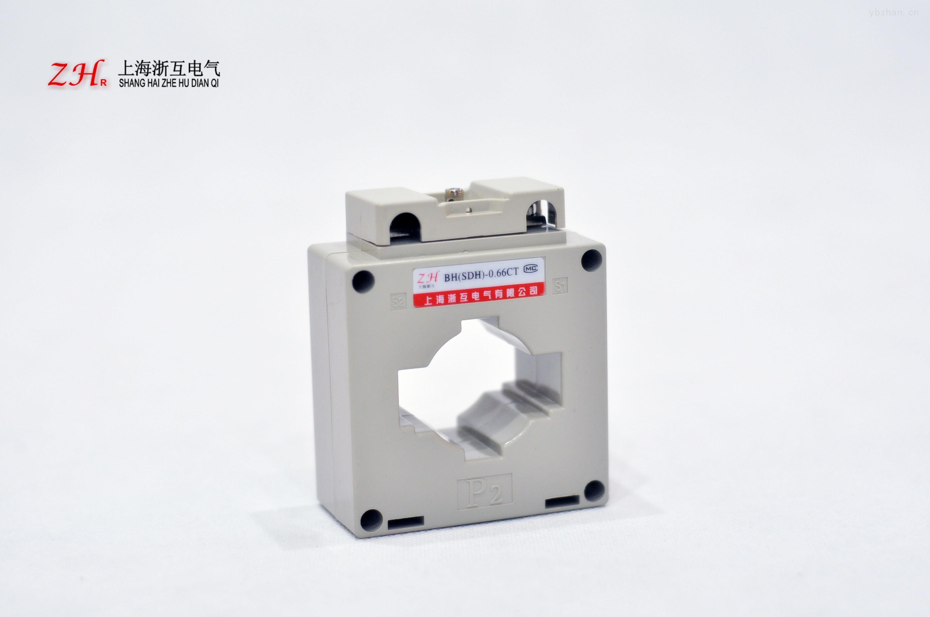 产品为塑壳式电流互感器,广泛应用于成套柜体,其安装方法可采用母排固