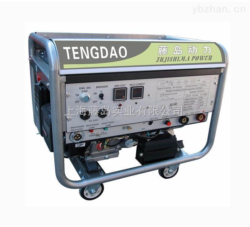 250A汽油发电氩弧焊机