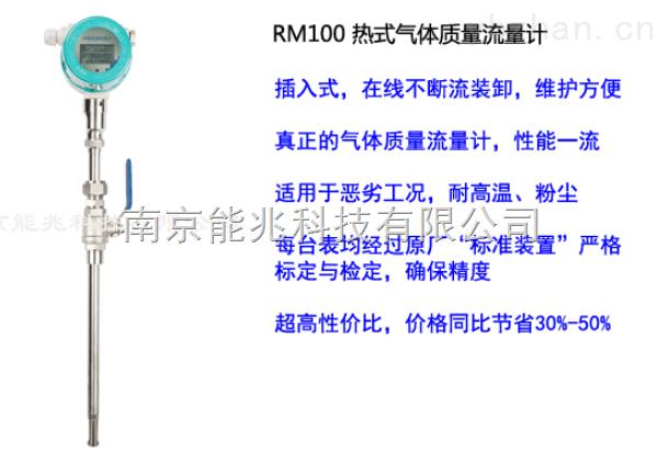 RM100-插入式熱式氣體質量流量計