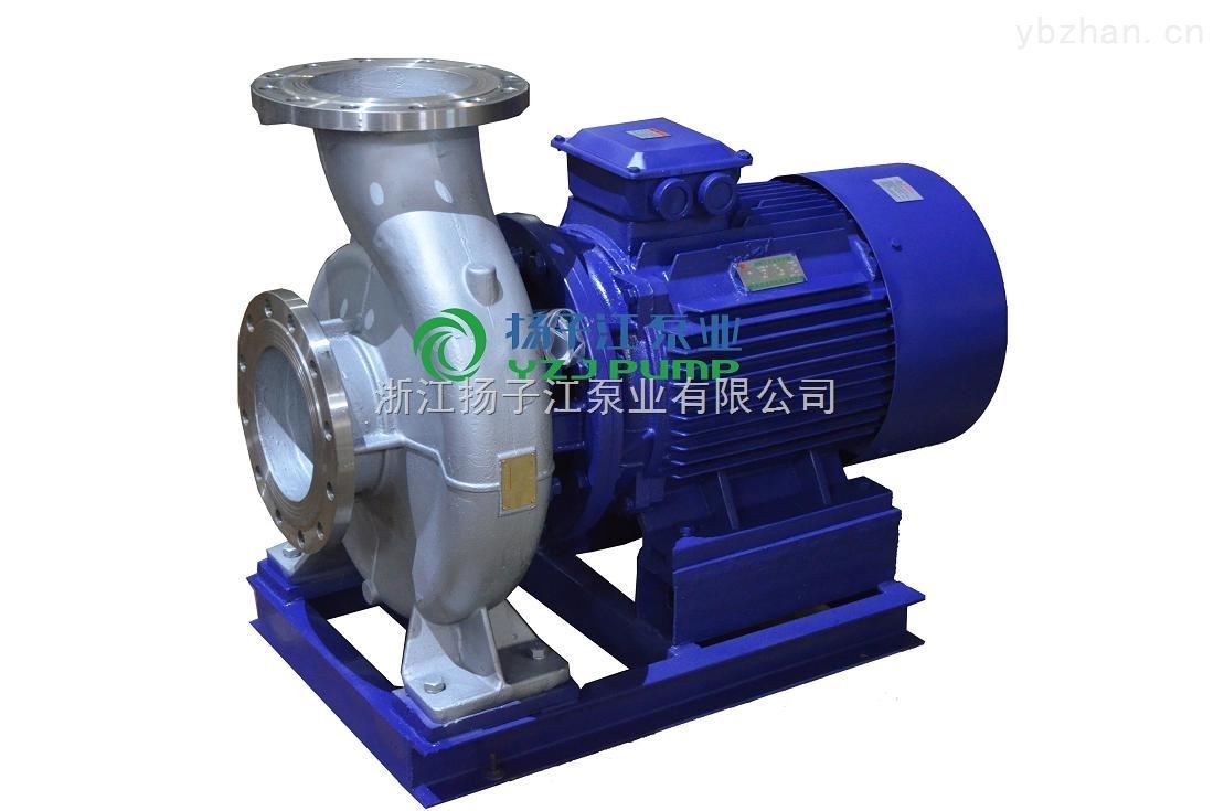 防爆化工泵:ISWH防爆化工不銹鋼管道泵
