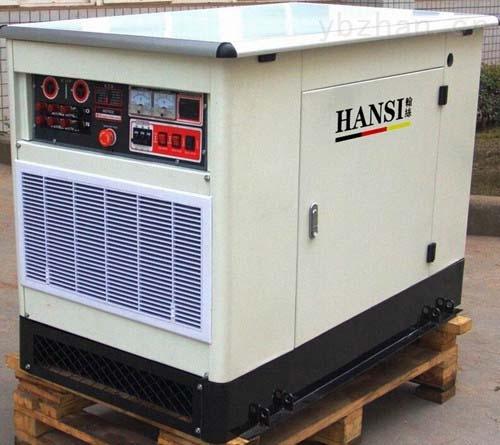 低噪音15KW汽油发电机