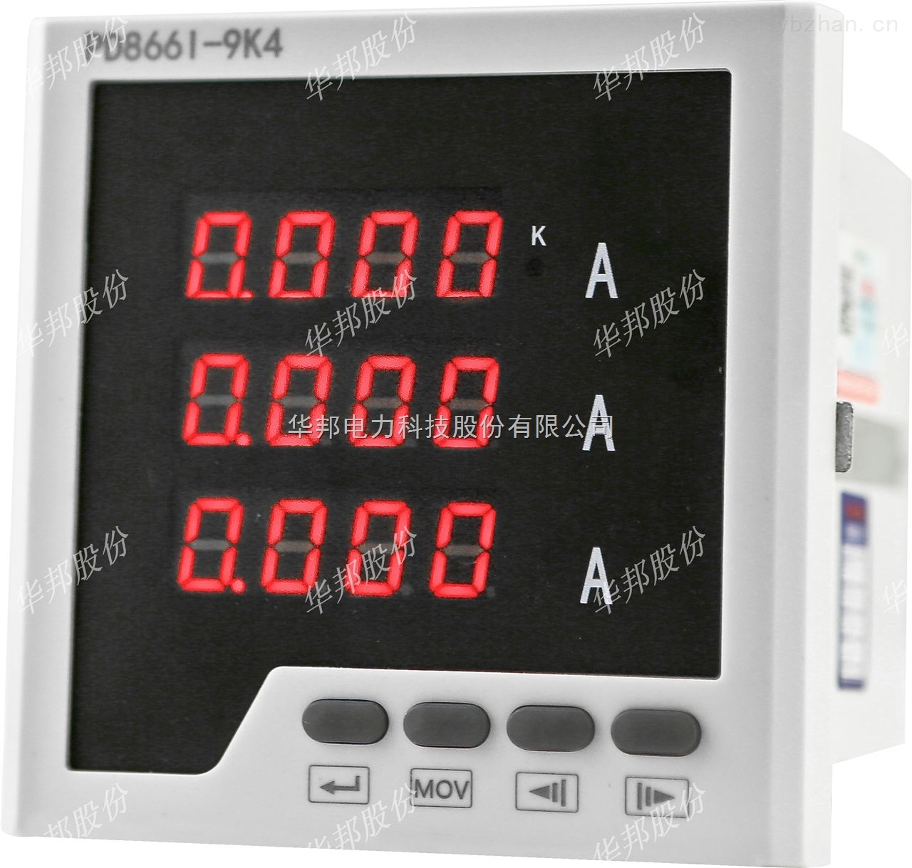 PD668E-9S4-数显三相电度表 (互感式,带网络传输功能)