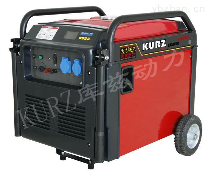 5千瓦超静音汽油发电机KZ5000UNE