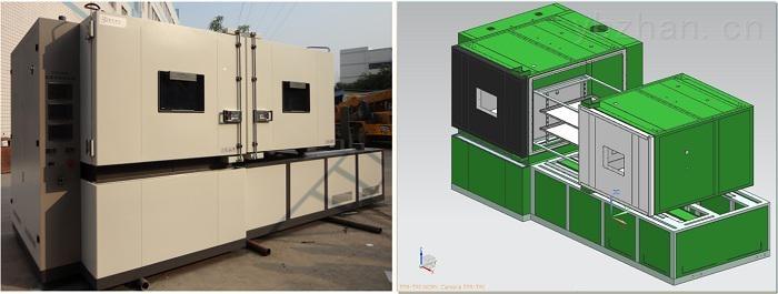 重庆四达两箱移动三温区温度冲击试验箱