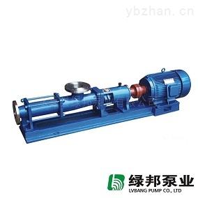 供应绿邦GF型不锈钢单螺杆泵