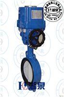 防水电动水处理铸钢法兰蝶阀