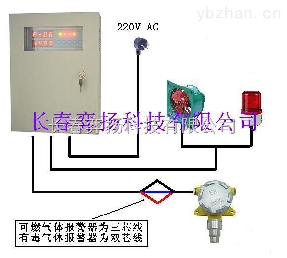 在线式一氧化碳报警器HFTCY-CO