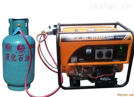 5KW最小型多燃料发电机