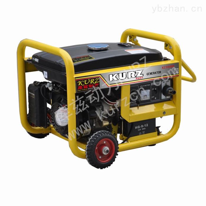 3千瓦小型汽油发电机进口价格