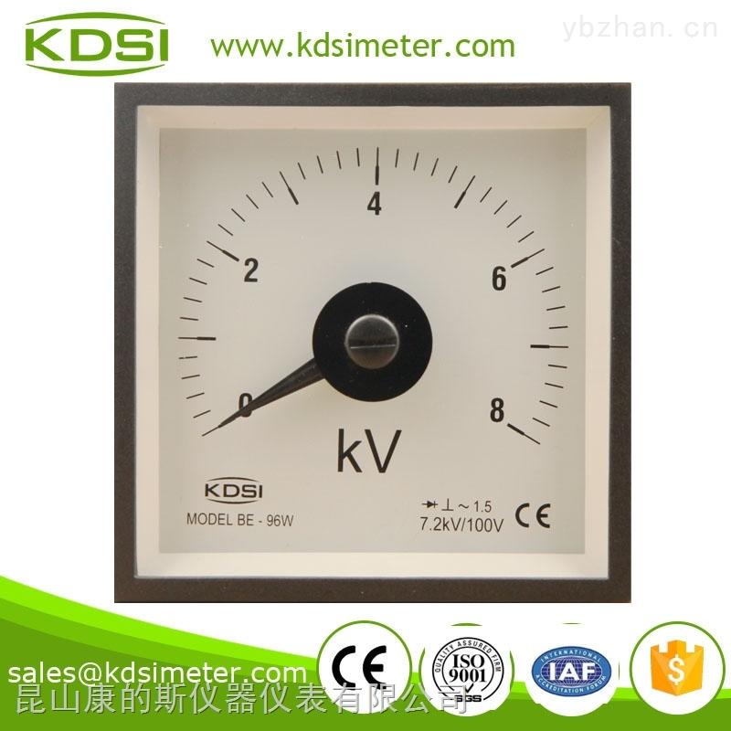 BE-96W-指针式整流型交流电压表 BE-96W AC8KV