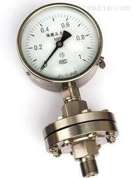 YTPF-100不锈钢隔膜压力表