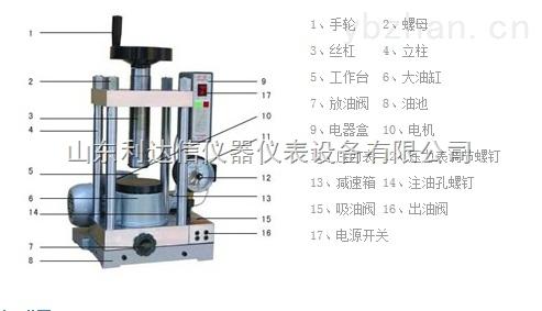 LDX-DY-40-電動壓片機