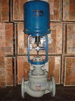 电动蒸汽法兰调节阀产品叙述