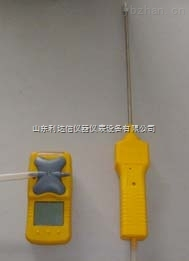 LDX-H24666-便携式氧气检测仪/外置泵吸式氧气测定仪
