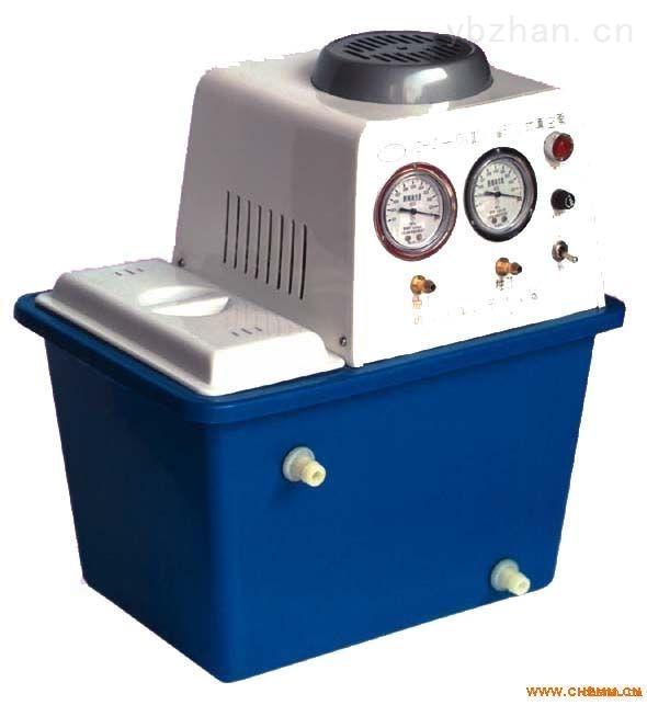 臺式雙表雙抽循環水式真空泵
