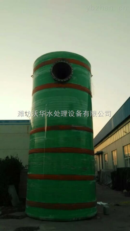 一体化污水提升泵站 防淤积设计 无故障连续运行10000h