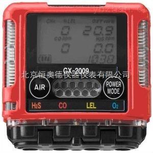 袖珍型大屏幕显示四种气体检测仪
