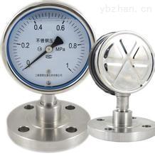 安徽天康YP-100F-F耐腐蝕膜片壓力表