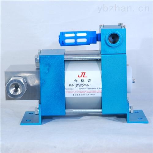 液压夹紧装置配用气驱液压泵