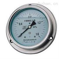 YN-60B-F不锈钢耐震压力表