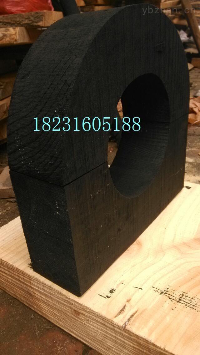 保冷防腐空调木托 管托