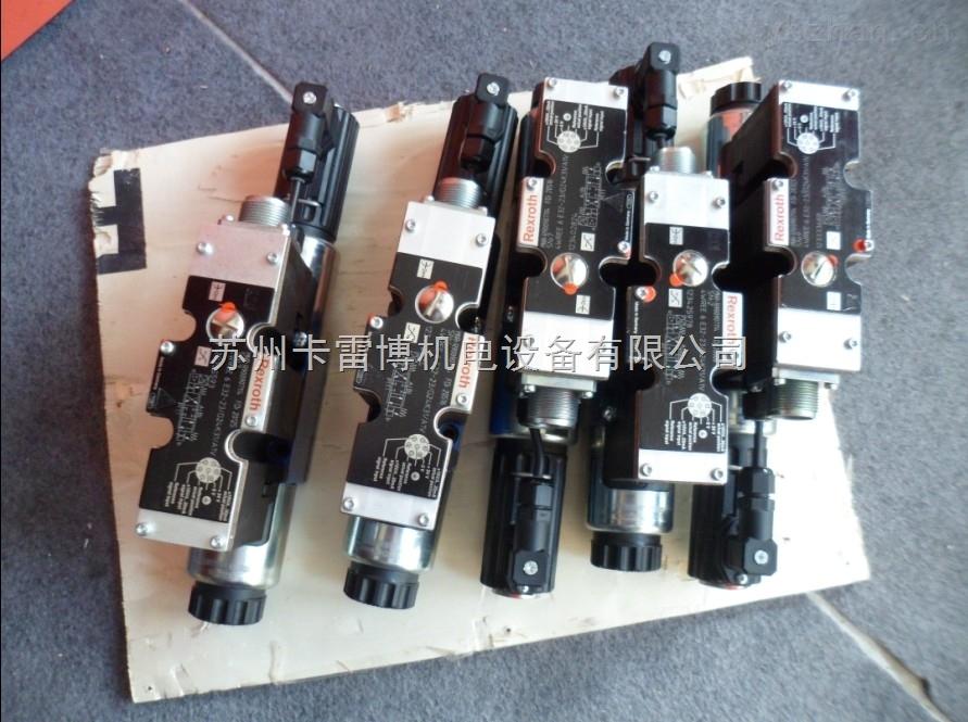 代理现货 德国Rexroth力士乐4WREE6V16-22/G24K61/A1V比例阀