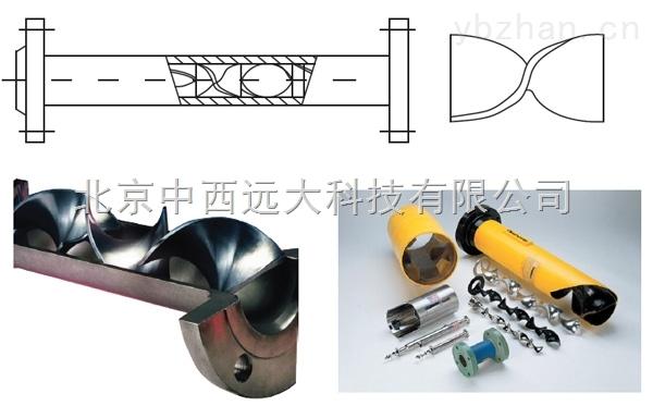 M39594-管道静态混合器 型号:YNT55-SK-50/100