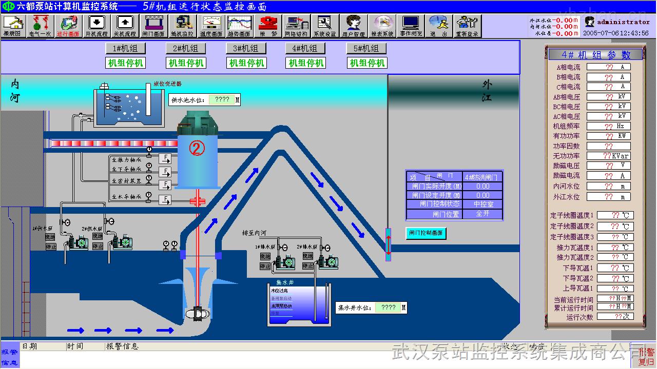 设计  我公司提供智慧水务灌溉排水泵站监控系统方案