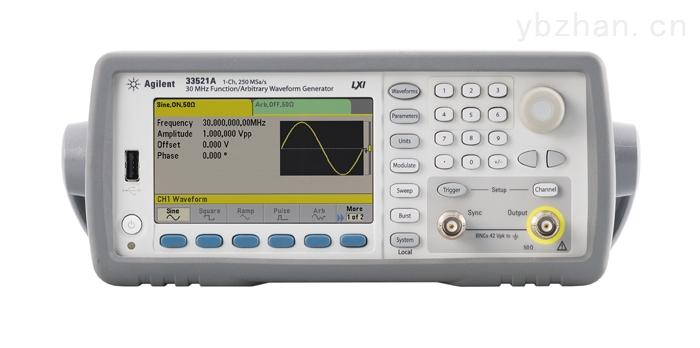 专业进口仪器回收Agilent安捷伦 33521A 函数与波形信号发生器