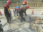 迪戈液压劈裂机破拆桥面静态安全施工设备
