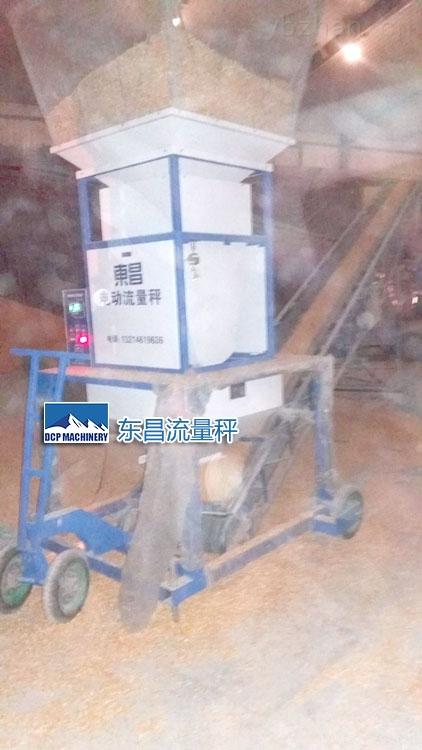 沈阳东昌大豆流量秤中间计量50吨每小时