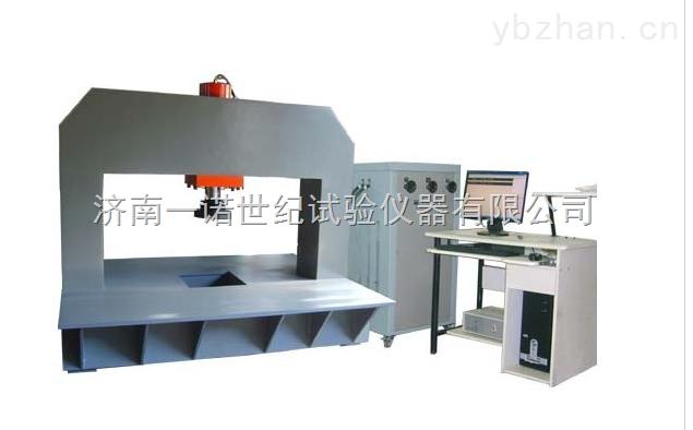 济南全自动高纤维树脂井盖承载压力试验机