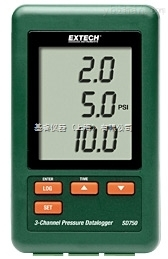 EXTECH SD750-NISTL 压力计,SD750-NISTL 3通道压力计