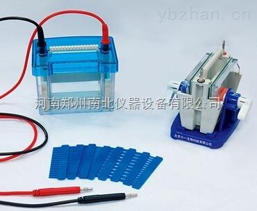 DYCZ-28B/D型单板/双板夹芯式垂直电泳仪(大号)。