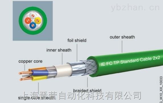 西门子PROFIBUS通讯电缆6XV1830-OEP10