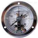 轴向带边防震电接点压力表