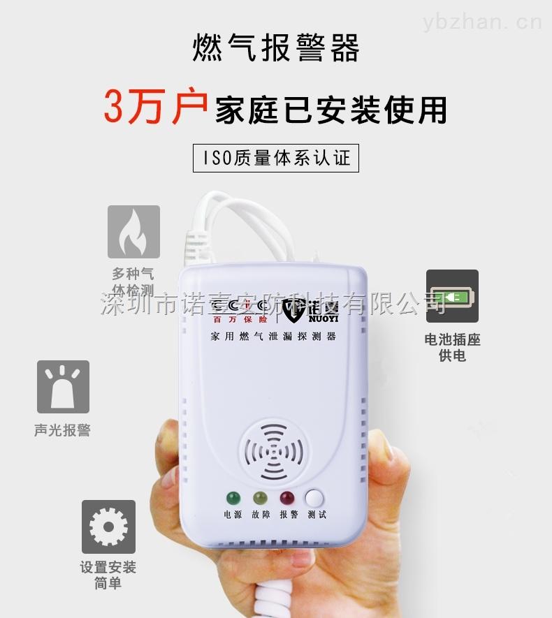 NY-X2-NY-X2-管道燃氣表專用報警器-廚房燃氣報警器價格